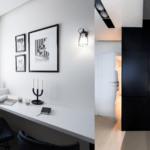 Monochromatyczna kuchnia projektu Besign Studio
