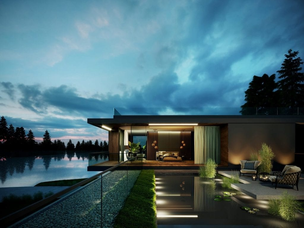 Water Mansion House projektu JMW Architekci
