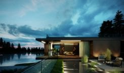 Water Mansion House od JMW Architekci