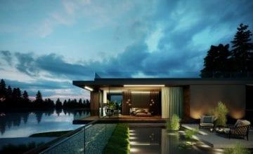 Water Mansion House od JMW Architekci