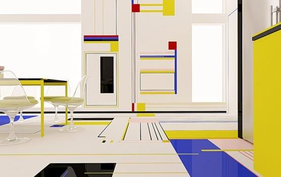 Brani & Desi i śniadanie z Mondrianem