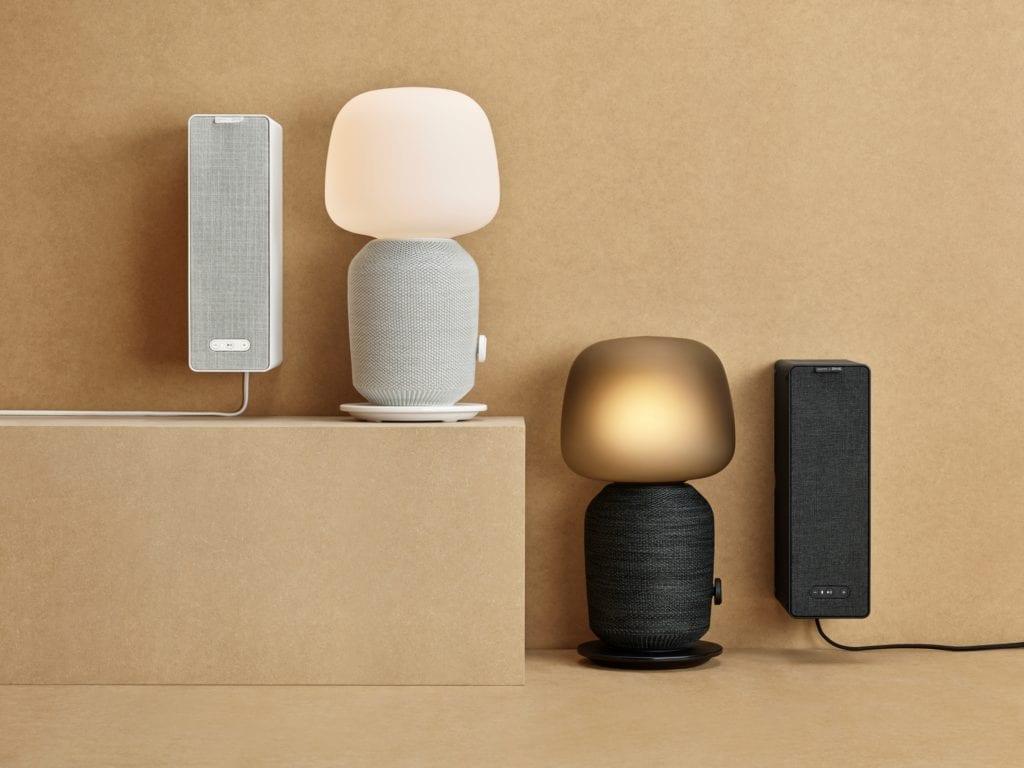Półka i lampka, które są róznież głośnikiem - Ikea & Sonos