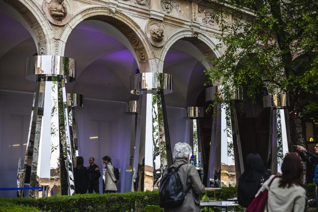 Ikona polskiego szkła świeci w Mediolanie - Krosno Dsign Glass - Milano Design Week - Karim Rashid