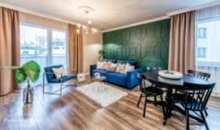 Mieszkanie w stylu modern classic z nowoczesnymi elementami