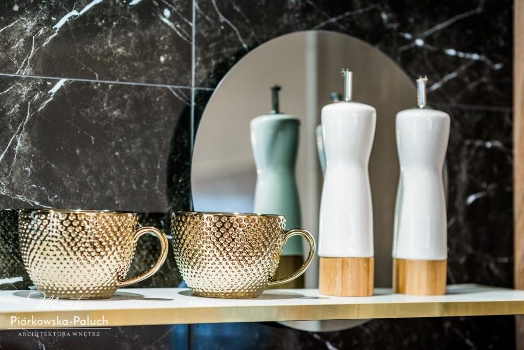 Mieszkanie w stylu modern classic z nowoczesnymi elementami - projekt Marta Piórkowska-Paluch