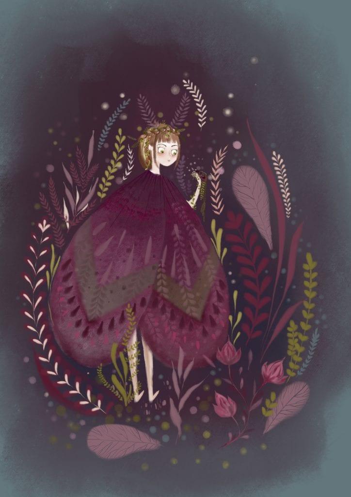 Ilustracja projektu Magdy Piesty