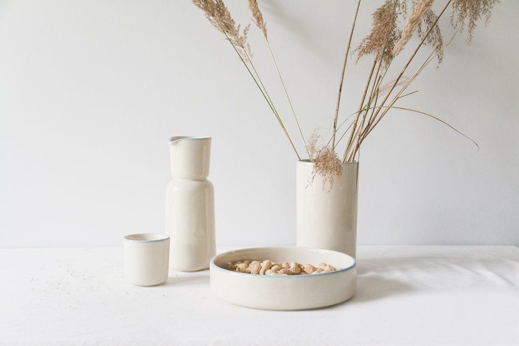 Ceramiczna zastawa od Mleko Living