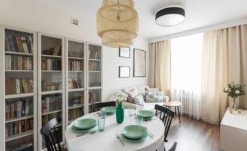 Funkcjonalne mieszkanie od Clou Design