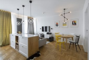 Biuro architektowniczne MADAMA i apartament na Żoliborzu