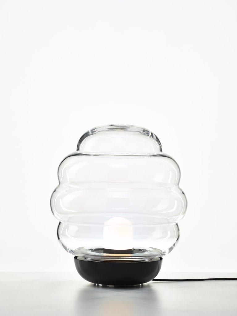 Dmuchana lampa stołowa