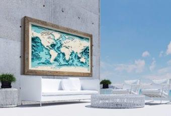 Avocado Pracownia Twórcza – Trójwymiarowe Morskie Mapy