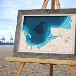 Trójwymiarowa Mapa Zatoki Gdańskiej - Avocado Pracownia Twórcza