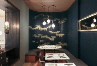 Restauracja Atlas Kitchen z ilustracjami Qiu Anxionga