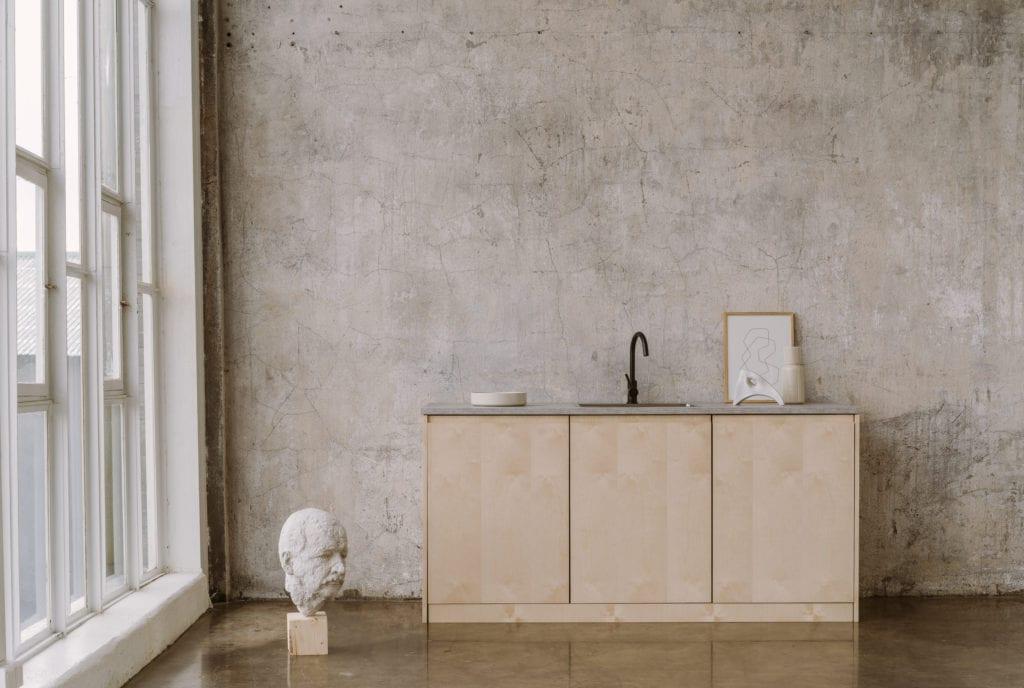 Beżowe fronty do systemu METOD IKEA od marki FRØPT - kolekcja Norwegian Wood
