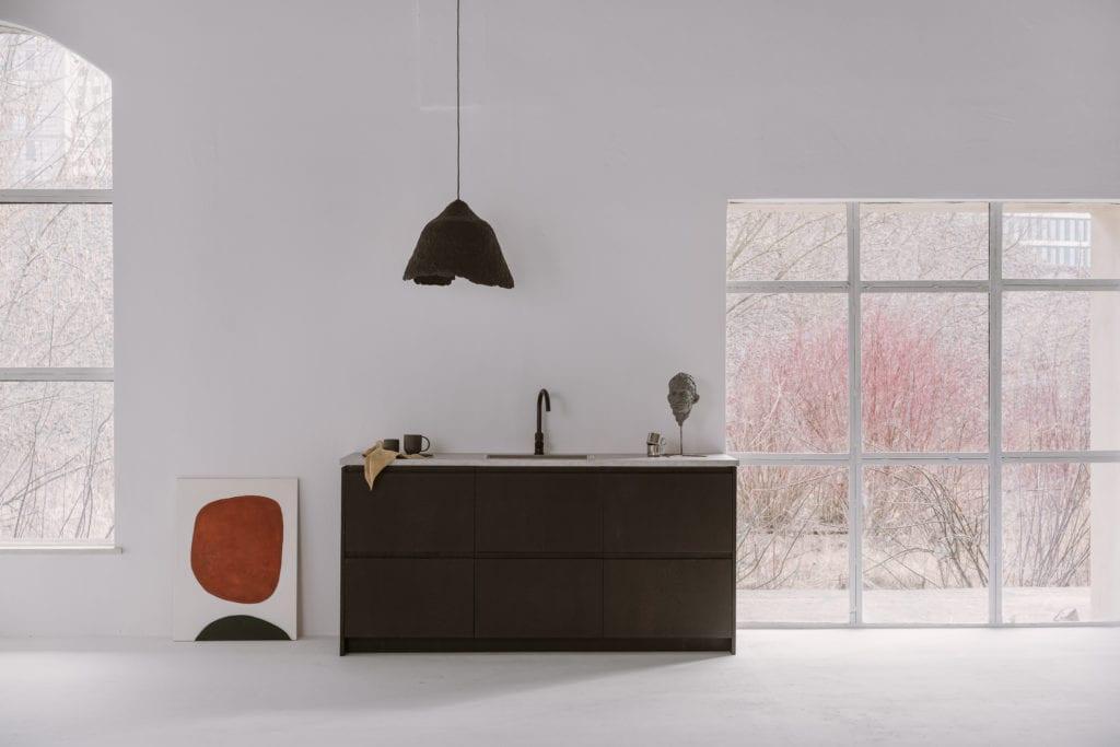 Ciemne fronty do systemu METOD IKEA od marki FRØPT - kolekcja Norwegian Wood