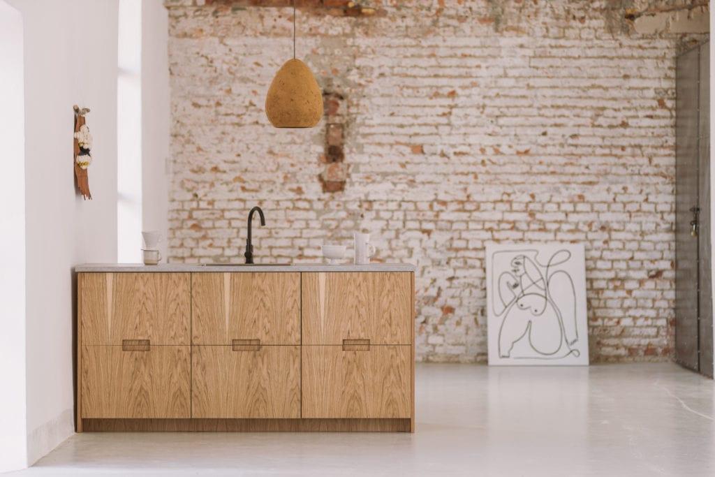 Fronty do systemu METOD IKEA od marki FRØPT - kolekcja Norwegian Wood - kolor jasny dąb
