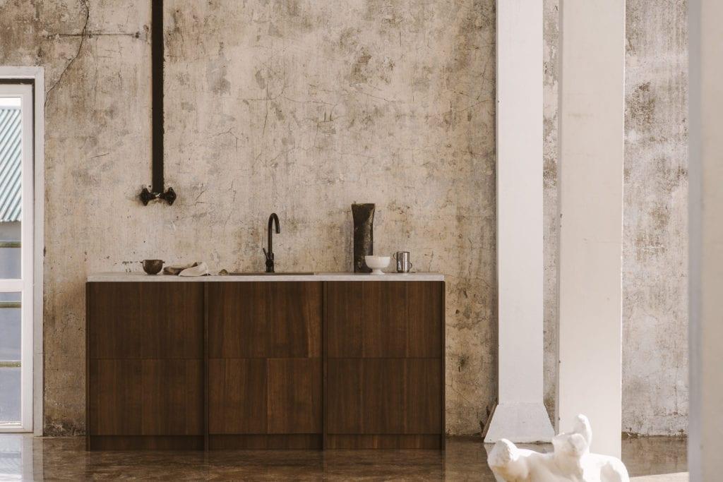 Fronty w kolorze ciemny orzech do systemu METOD IKEA od marki FRØPT - kolekcja Norwegian Wood