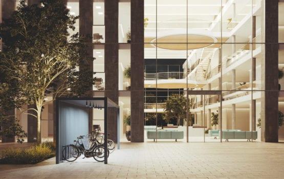 Innowacyjny podział powierzchni biurowych – pawilony Kettal Group