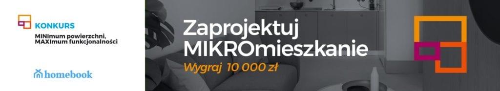 Konkurs dla projektantów organizowany przez Homebook.pl