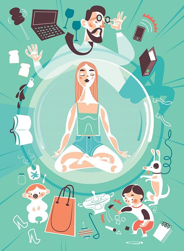Propozycja prezentu na dzień matki - plakat od marki Nioska