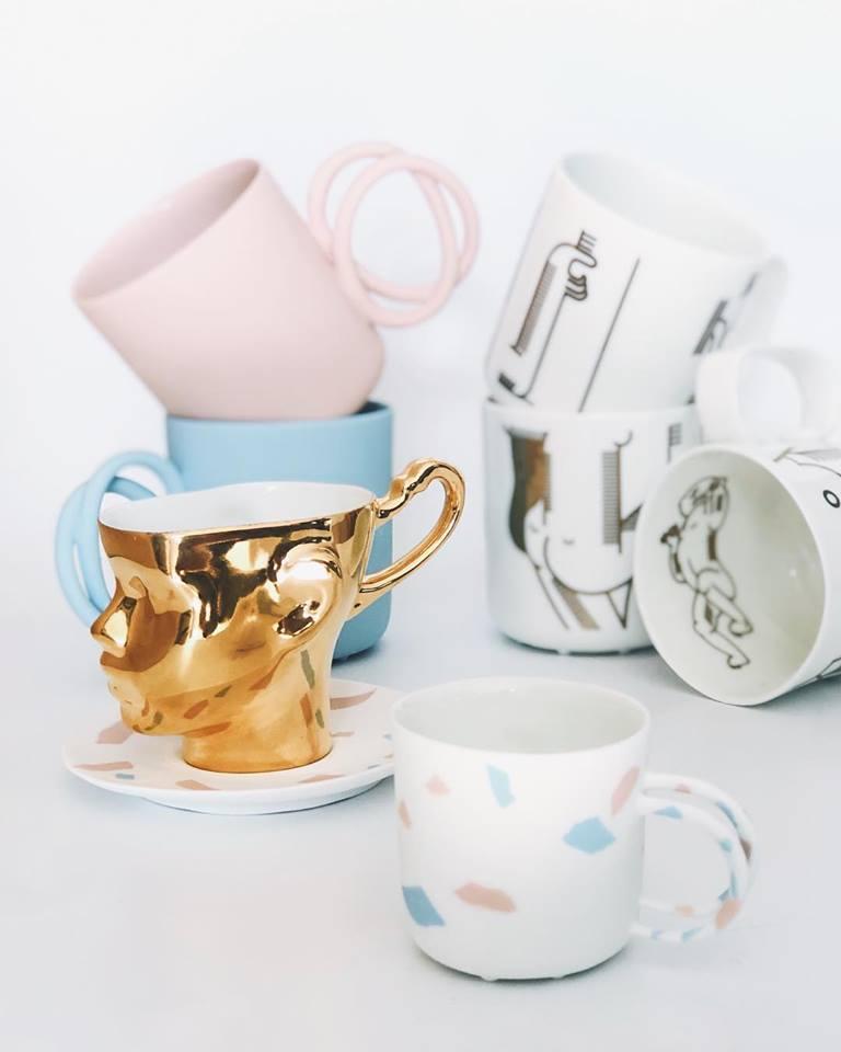 Propozycja prezentu na dzień matki - kolorowa ceramika od Ende