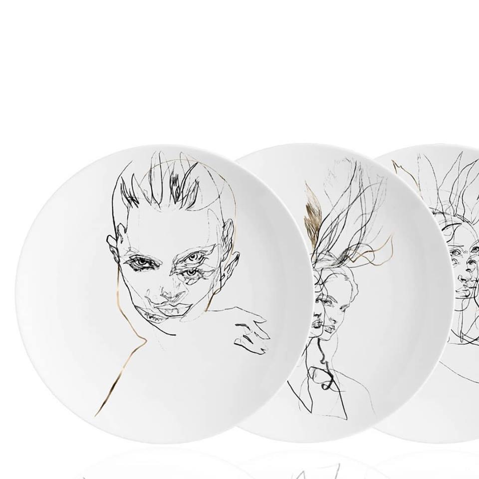 Propozycja prezentu na dzień matki - ręcznie zdobiona ceramika od Vola art of deco
