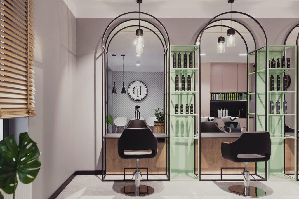 Salon fryzjerski w Białymstoku w pastelowych kolorach