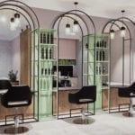 Salon fryzjerski w Białymstoku projektu 74studio