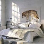 Vaku-dsgn obrazy drukowane na płótnie - obraz z wilkiem