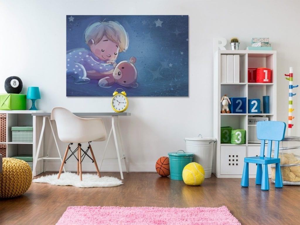 Vaku-dsgn obrazy drukowane na płótnie - obraz do pokoju dziecięcego