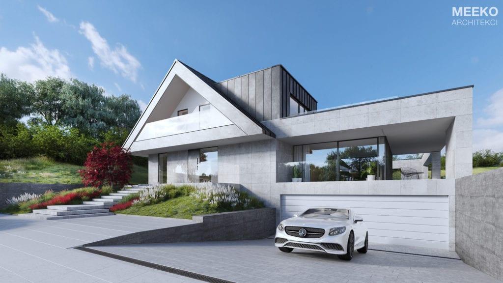 Dom w Kobylanach od MEEKO Architekci