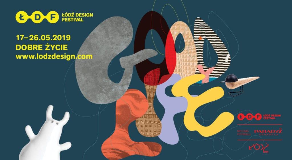 Plakat Łódź Design Festival 2019