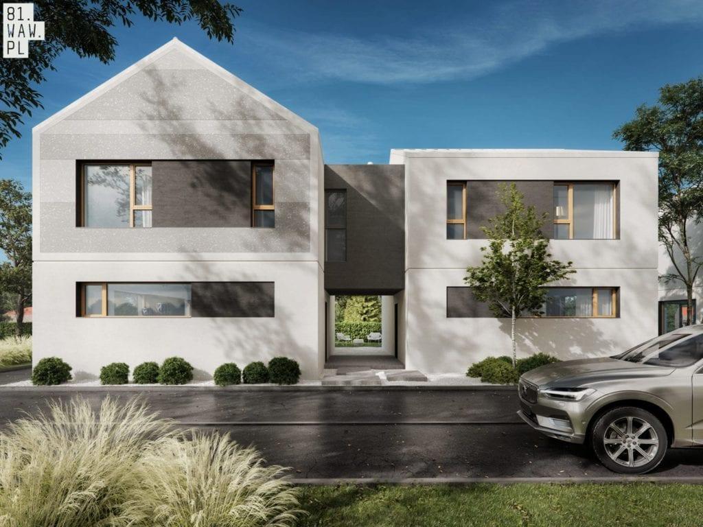 Nowoczesne osiedle Modern House od 81.waw.pl