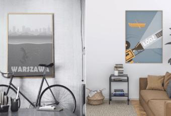 Hunny Badger – plakaty inspirowane podróżami