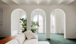 Prywatny penthouse w Barcelonie projektu studia PMAA