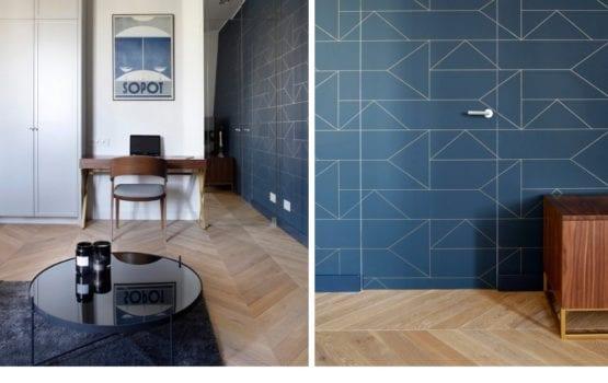 Apartament na warszawskim Powiślu projektu Sojka & Wojciechowski