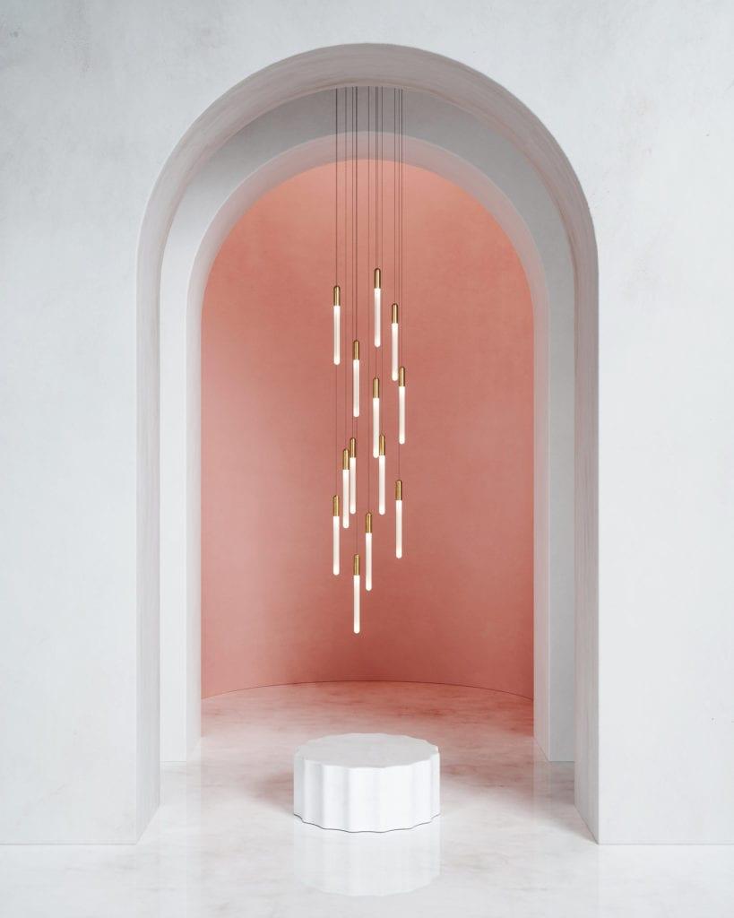 Lampa w Mesmetric Atelier