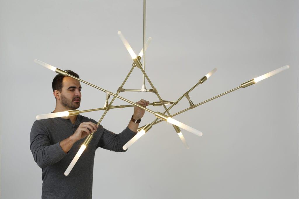 Designerskie oświetlenie projektu Matthew McCormick