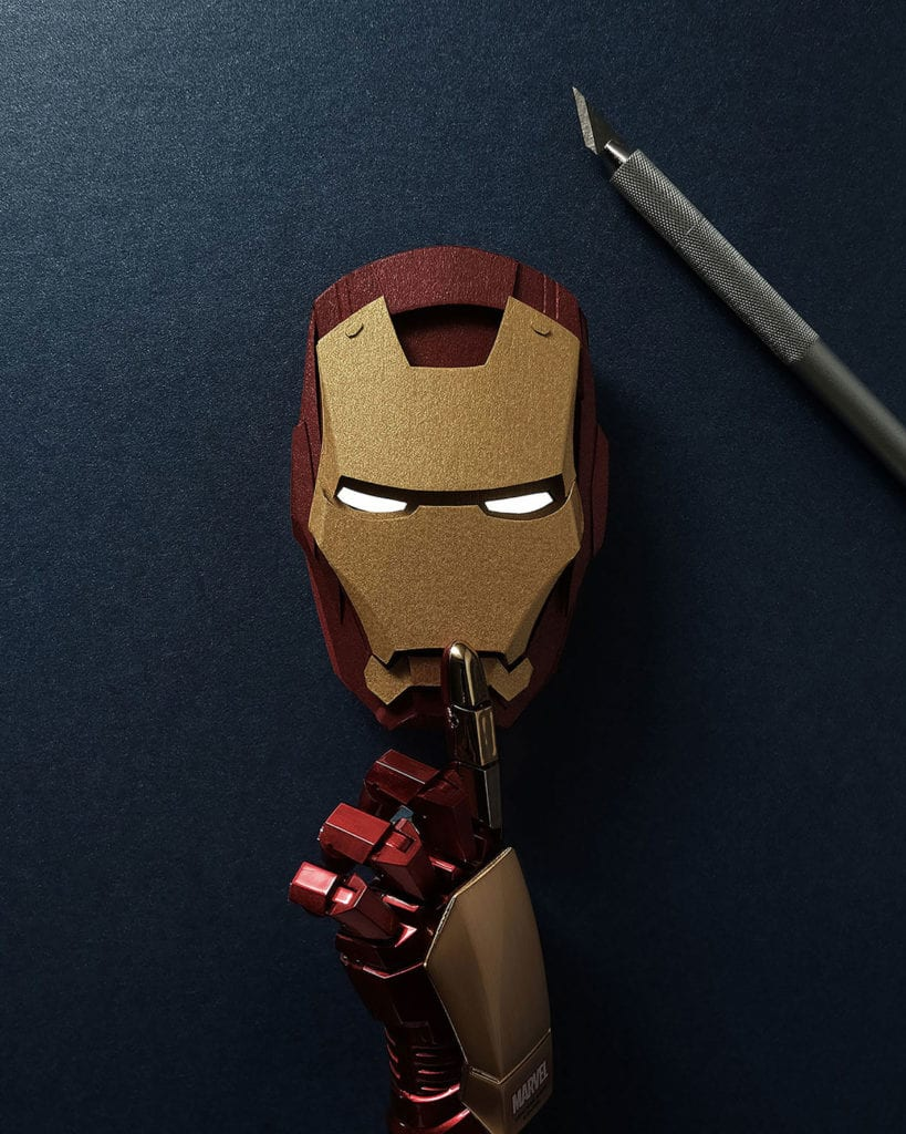 John Ed De Verat - ilustracje - Iron Man