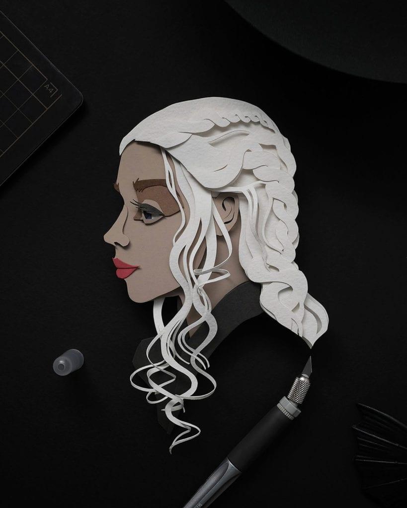 John Ed De Verat - ilustracje - Daenerys Targaryen