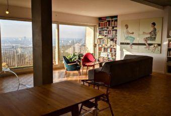 D44 architecture i kubistyczny apartament w Belgii