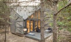 Bookworm Cabin, czyli chatka do czytania w Adelinie