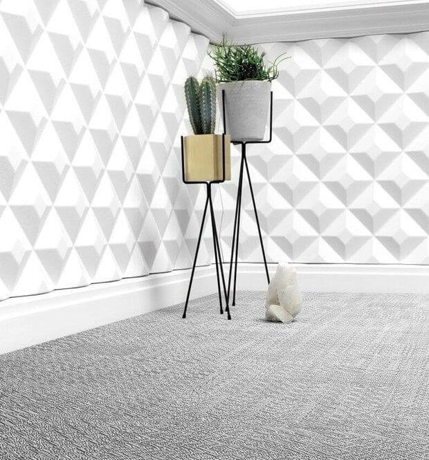 Podłoga winylowa 2tec2 w pokoju z białymi ścianami - podłogi winylowe 2tec2