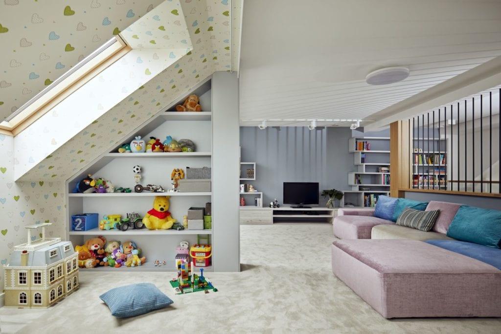 Pokój dziecięcy od Kaza Interior Design