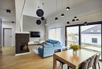 Dom pod Kielcami od Kaza Interior Design