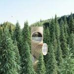 Bert, czyli dom w lesie projektu Studio Precht