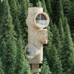 Domek w kształcie peryskopu projektu Studio Precht