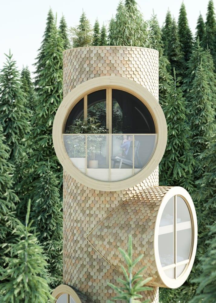 Dom Bert projektu Studio Precht