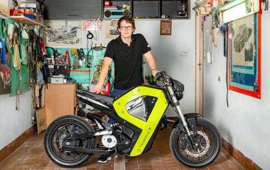 Falectra – pierwszy polski motocykl elektryczny