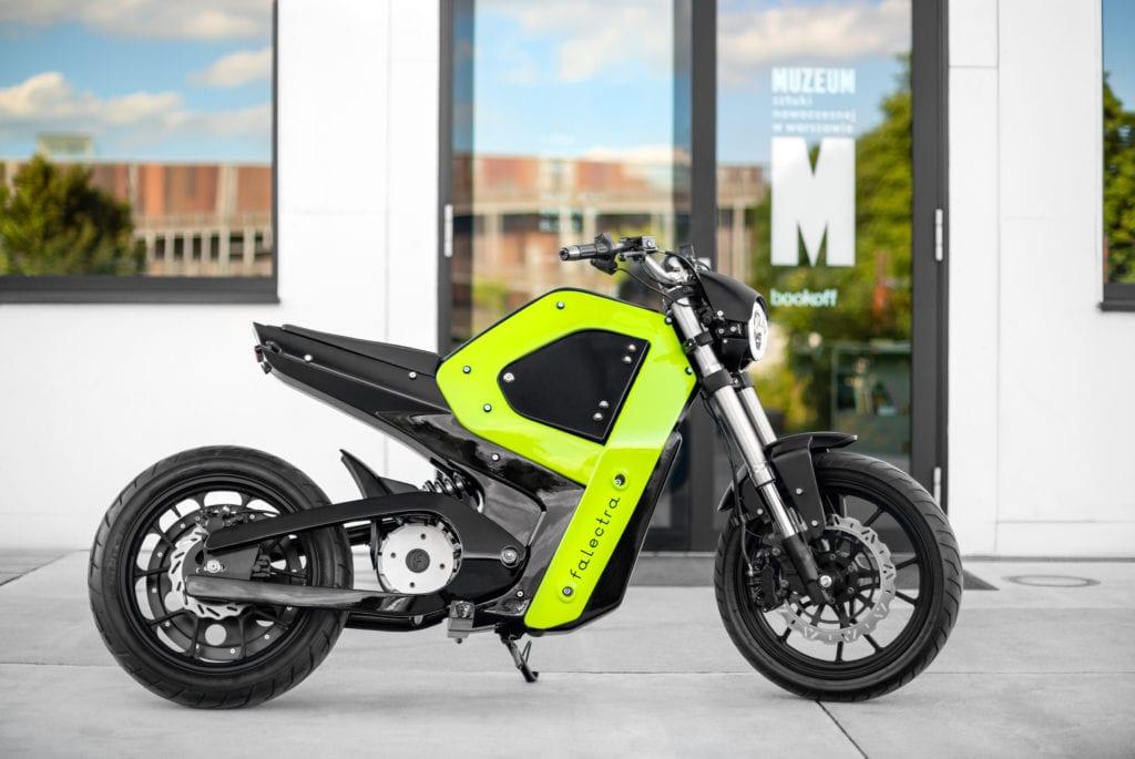 Falectra - pierwszy polski elektryczny motocykl projektu Piotra Krzyczkowskiego #1